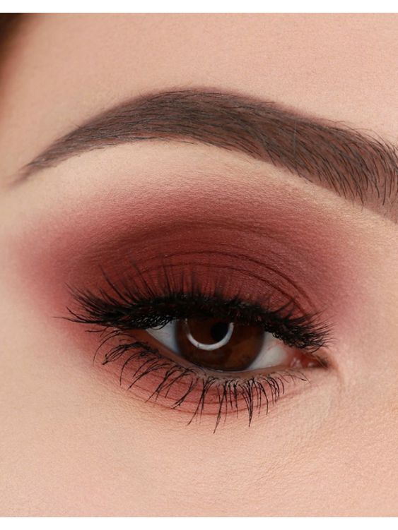 Semilac Matt Eyeshadow 408 Cherry Mokka