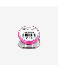 Gel constructor 04 SEMILAC UV GEL ONLY ONE PINK NUDE 5 ML