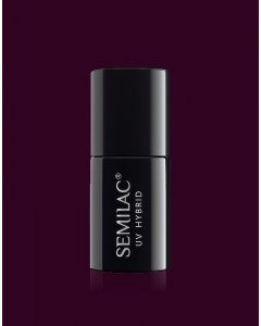 099 Esmalte semipermanente Semilac Dark Purple Wine 7ml