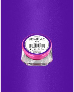 146 UV Gel Color Semilac Purple King 5ml