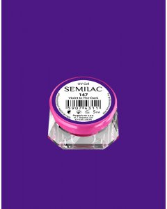 147 UV Gel Color Semilac Violet In The Dark 5ml