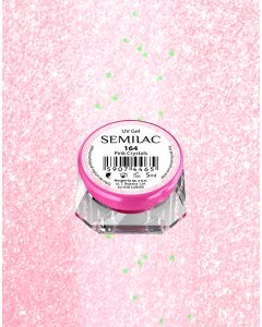 164 UV Gel Color Semilac Pink Crystals 5ml