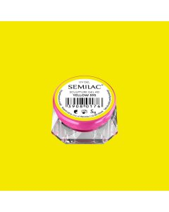 595 SEMILAC SCULPTURE GEL 4D YELLOW 5 G