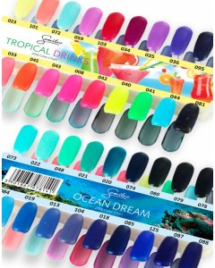 Muestrario Semilac Ocean Dreams/Tropical Drinks - 36 colores